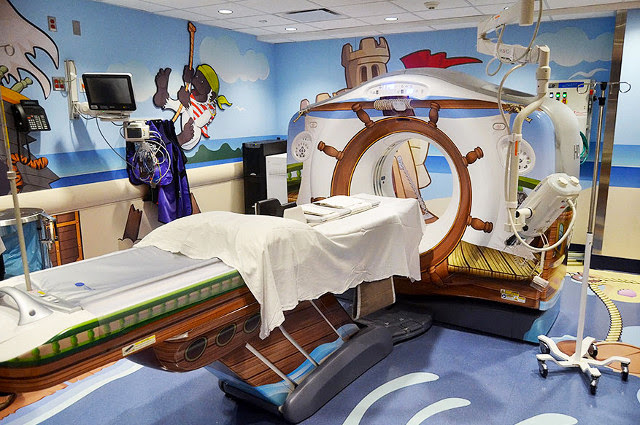 #全身掃瞄儀器不再冷冰冰:The Pirate Themed Scanner Hospital ! 4