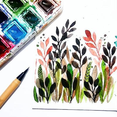 zine indonesia flowers