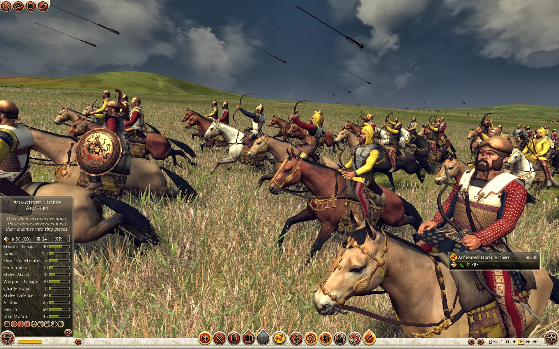 Armoured Horse Archers