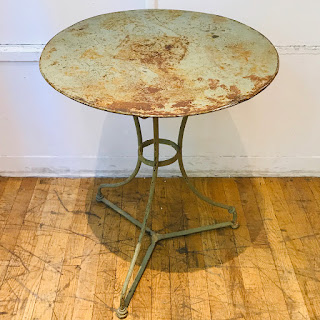 Vintage Iron Cafe Table