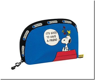 Peanuts X LeSportsac 8170 Medium Dome Cosmetic 03