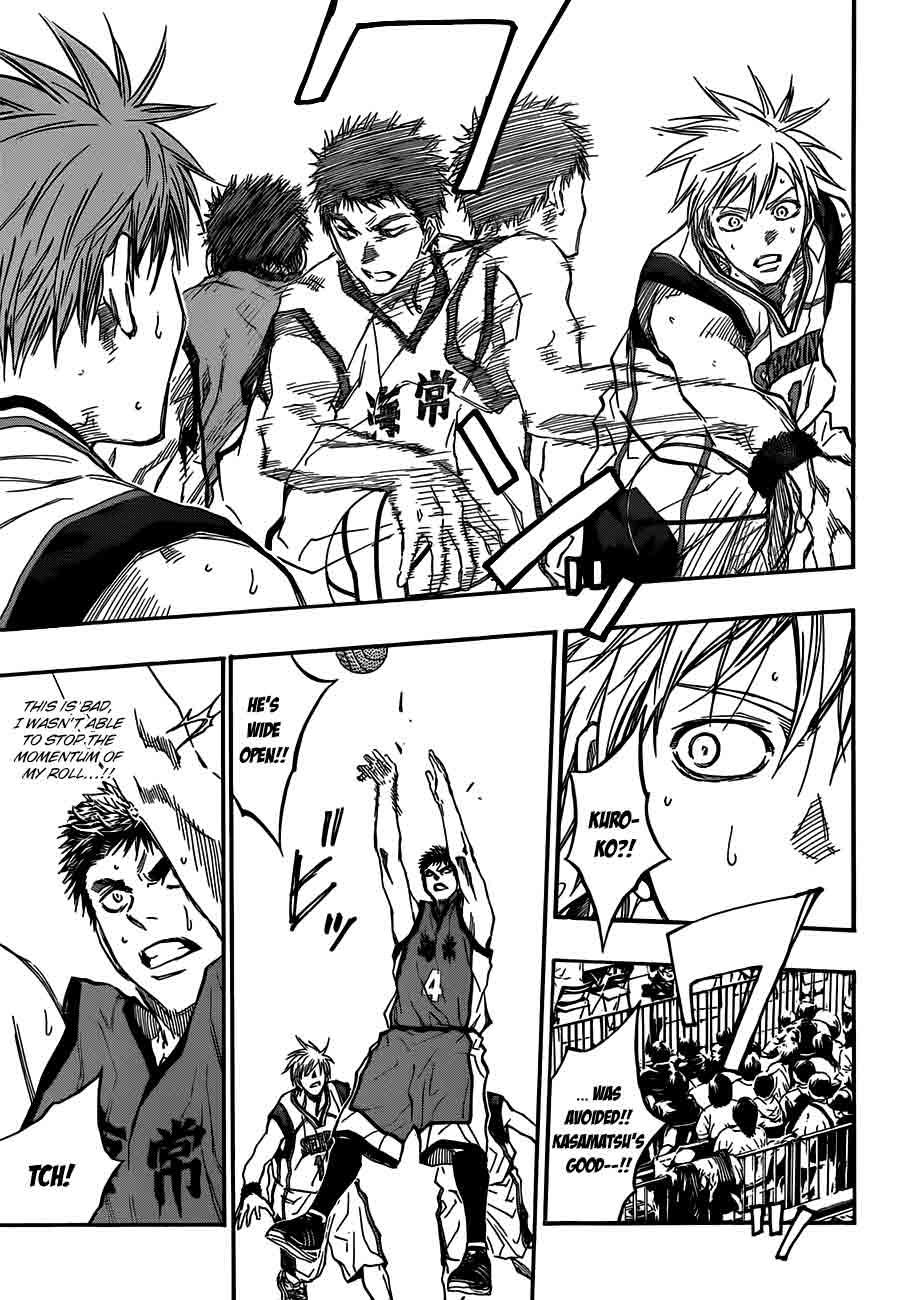 Kuroko no Basket Manga Chapter 187 - Image 11