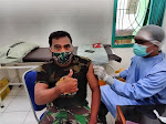 Vaksin Sinovac Diberikan Kepada Anggota Satgas Covid 19 Kodim 0731/Kulon Progo