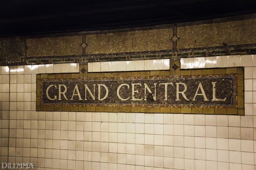 Надо сказать, метро Нью-Йорка