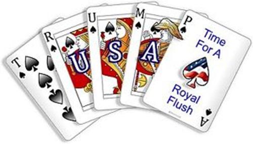 trump royal flush