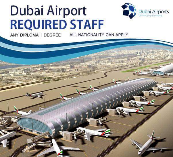 DUBAI airport vacancies
