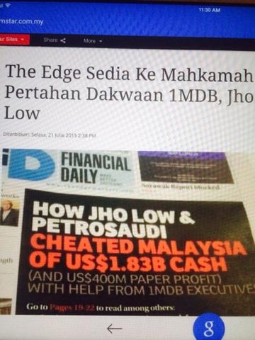 shahbudin dot   selepas sarawak report dan the edge
