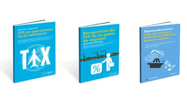 3 Ebooks gratuitos + 1 infografía sobre el IVA deducible y su gestión