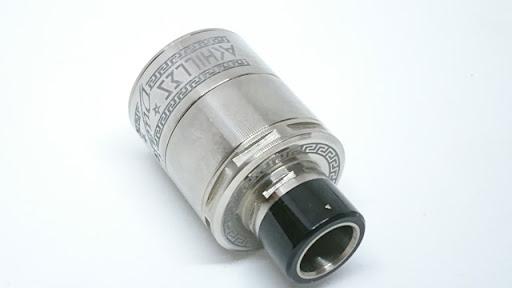 DSC 7234 thumb%255B2%255D - 【RDA】 ACHILLES dual RDA by Titanium Mods (アキレスデュアルRDA)レビュー。アキレスIIのデュアルビルド対応バージョン!チタン製で軽量・爆煙・味良し