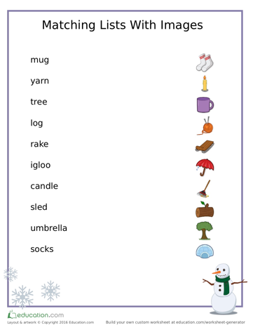 Fun Learning Worksheets For Your Little Ones With Education.com ...
