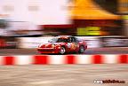 REd Nissan drifting