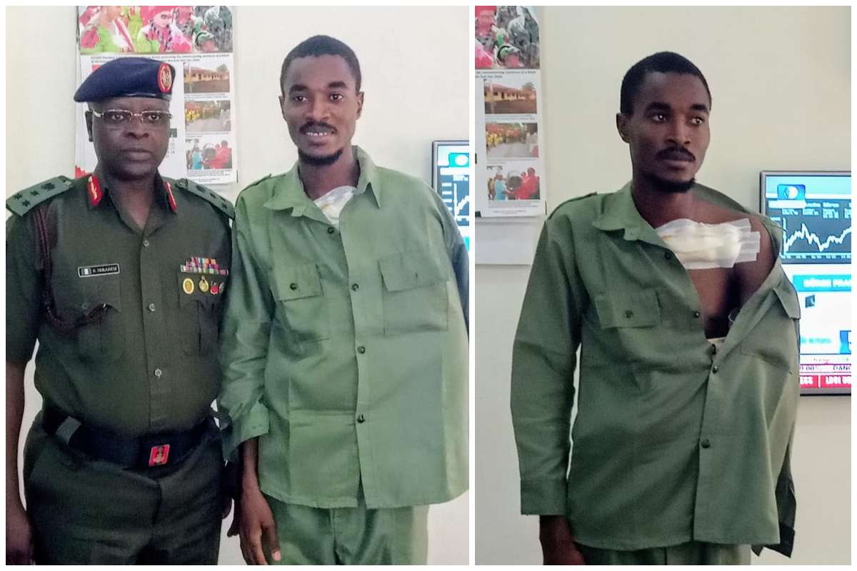 Corper Aliyu Suleiman Discharged From Hospital After Shittes - Police Clash