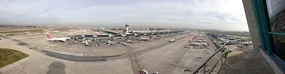 İstanbul Atatürk Havalimanı Panoramik Fotoğraf