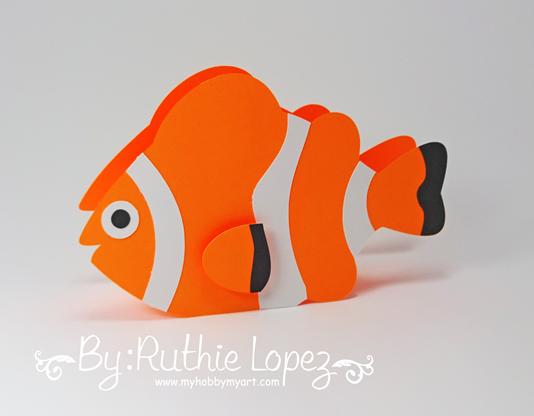Nemo - Dory - Buscando a Nemo - Buscando a Dory - Finding Dory - Finding Nemo - Ruthie Lopez - My Hobby My Art