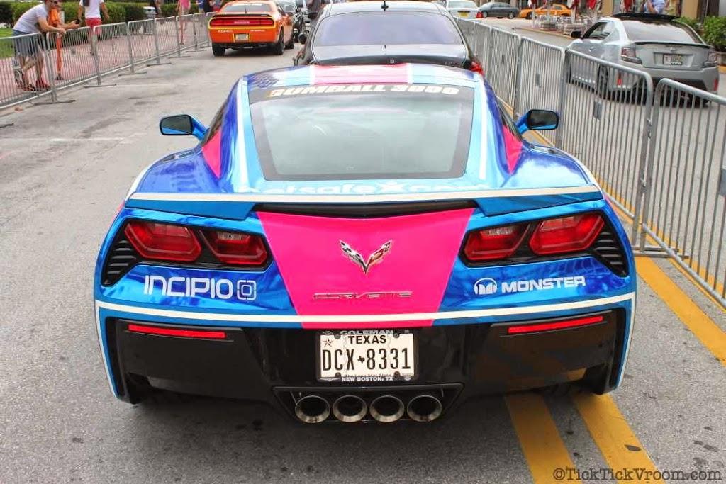 2014 Gumball 3000 Miami 2 Ibiza Ocean Drive 7950