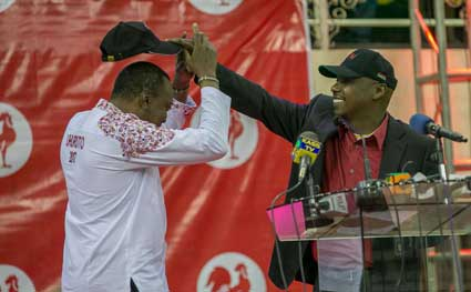 Jubilee party signs party post-election deal with KANU ahead of jubilee parliamentary meeting