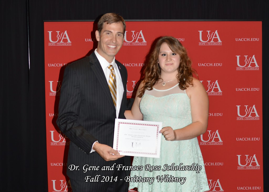 Scholarship Awards Ceremony Fall 2014 - Brittany%2BWhitney.jpg