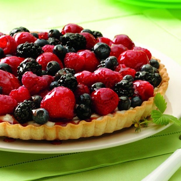 Berry-Tart-Square