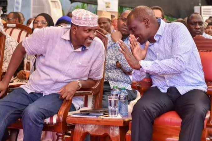 Aden Duale insists DP William Ruto is the next president to move forward big 4 agenda. PHOTO | BM