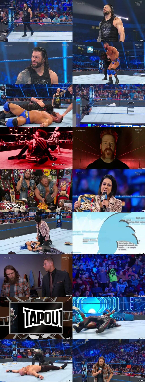 Screen Shot Of WWE SmackDown Live 29th November 2019 HDTV 480P 300MB