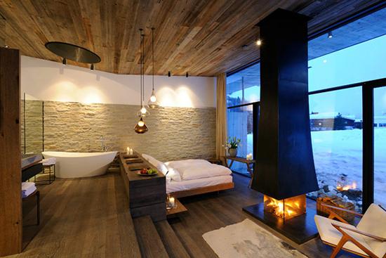 hotel in saalbach hinterglemm österreich led beleuchtungskonzept