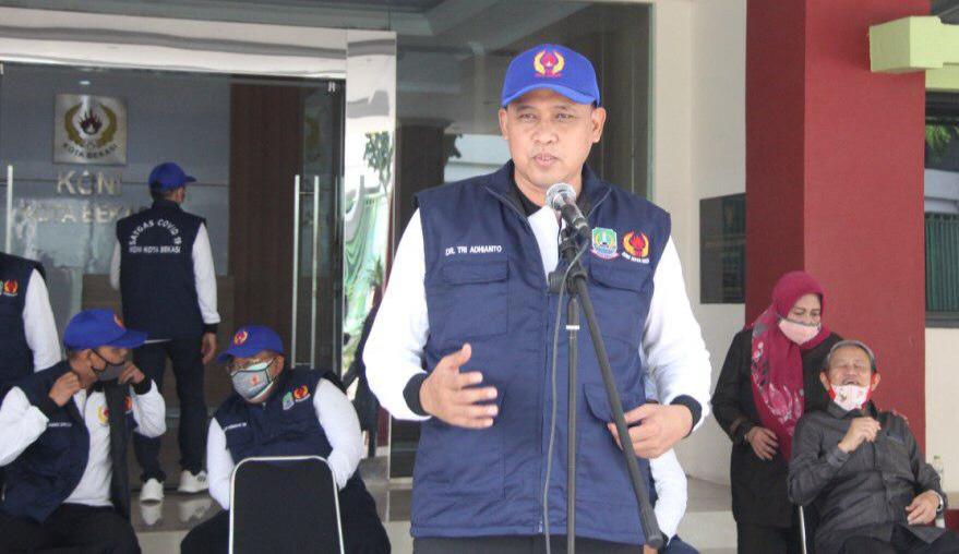 Tri Adhianto Kukuhkan Anggota Satgas Covid-19 Koni Kota Bekasi