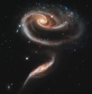Beautiful Rose-Shaped Galaxy