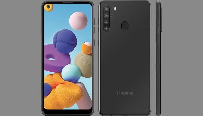 Samsung Galaxy A21 Spesifikasi