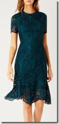 Coast Short Sleeved Lace Dress