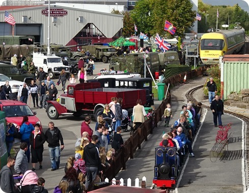 Visitors enjoy the event at Crewe  Heritage Centre (2)
