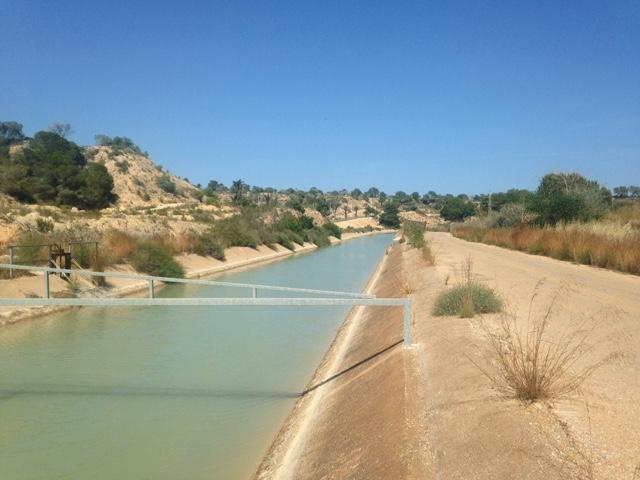Canal walk Villamartin Orihuela Costa