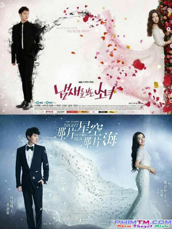"""Cạn lời với những poster """"học hỏi"""" xứ kimchi quá đà của phim Hoa Ngữ - Ảnh 1."""