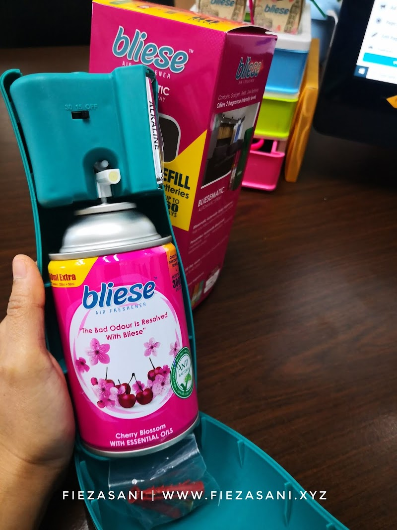 Semerbak Wangi Rumah Dan Bilik Guna Bliese Air Freshner Ni