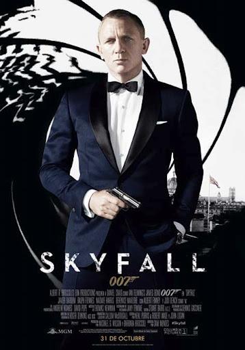Skyfall, cartel película