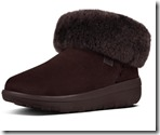 Fitflop Mukluk Chocolate Brown