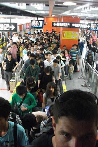 Taking the Metro in China