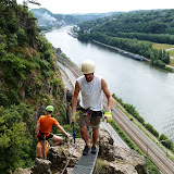 Via ferrata de Marche-les-Dames