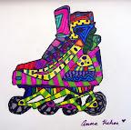 Roller Blade by Anna
