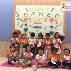 Independence Day Celebration by Playgroup Afternoon Section at Witty World, Chikoowadi (2018-19)