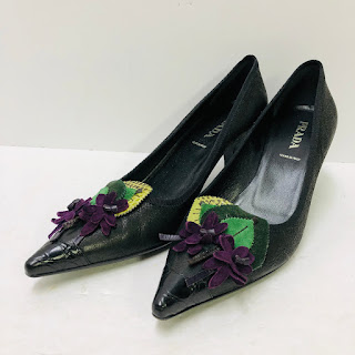 Prada Floral Pumps