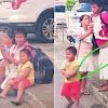 Memilukan, Bocah Diikat Tali agar Bisa Tuntun Ayah dan Ibunya yang Buta