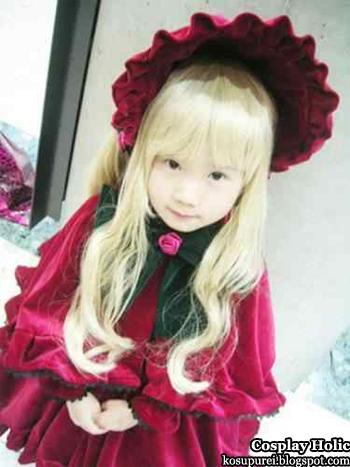 rozen maiden cosplay - shinku