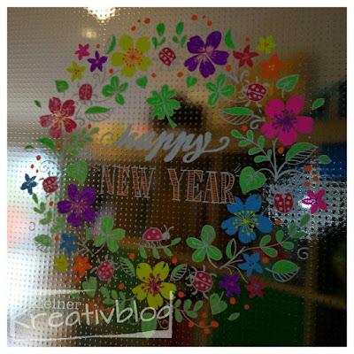kleiner-kreativblog: Fenstermalerei