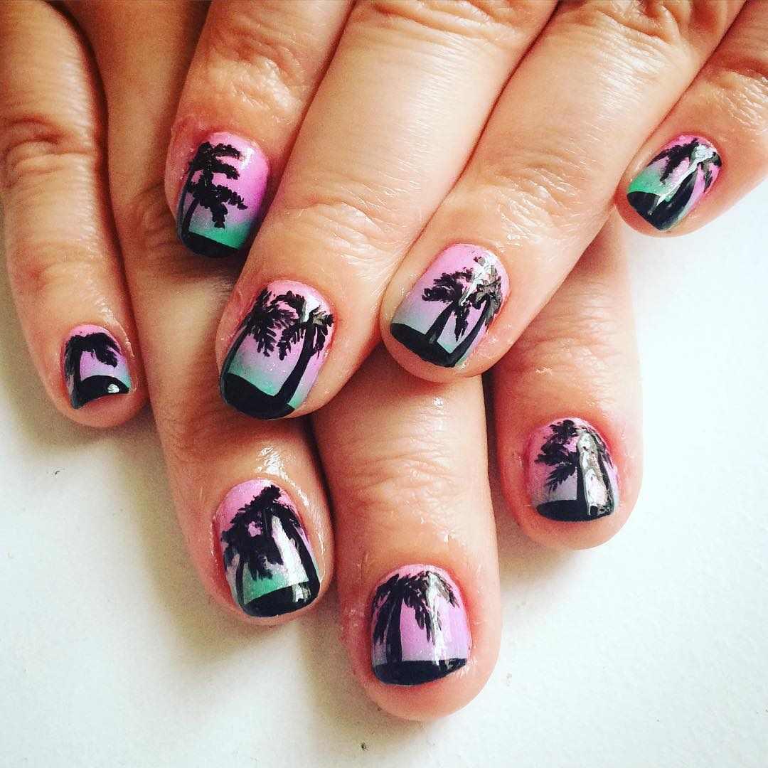 cute summer nail art designs 2016 2017 - style you 7