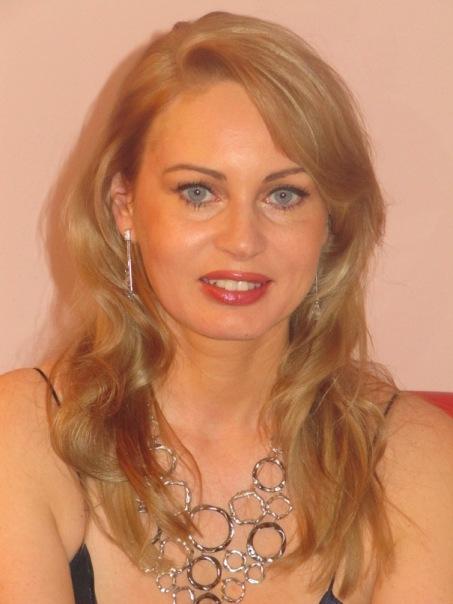 Olga Lebekova Portrait, Olga Lebekova