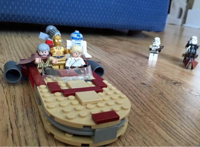 Landspeeder Star Wars Lego