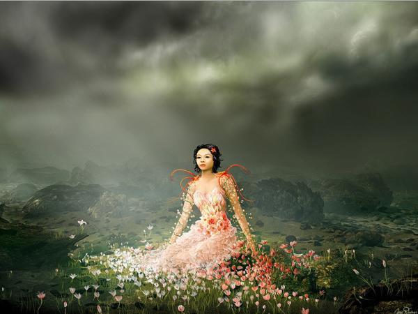 Arcane Magician Woman, Fantasy Girls 2