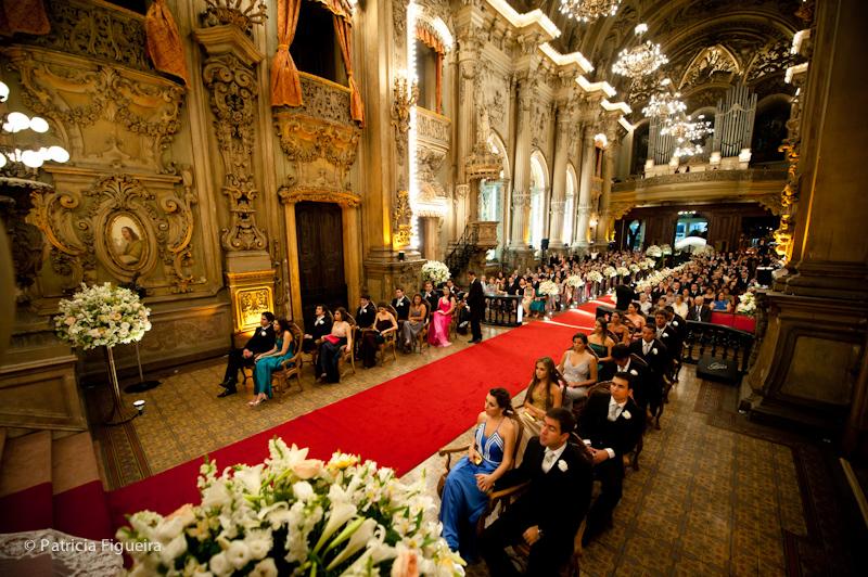 Foto de casamento 0914 de Ana e Joao. Marcações: 29/10/2011, Casamento Ana e Joao, Igreja, Igreja Sao Francisco de Paula, Rio de Janeiro.