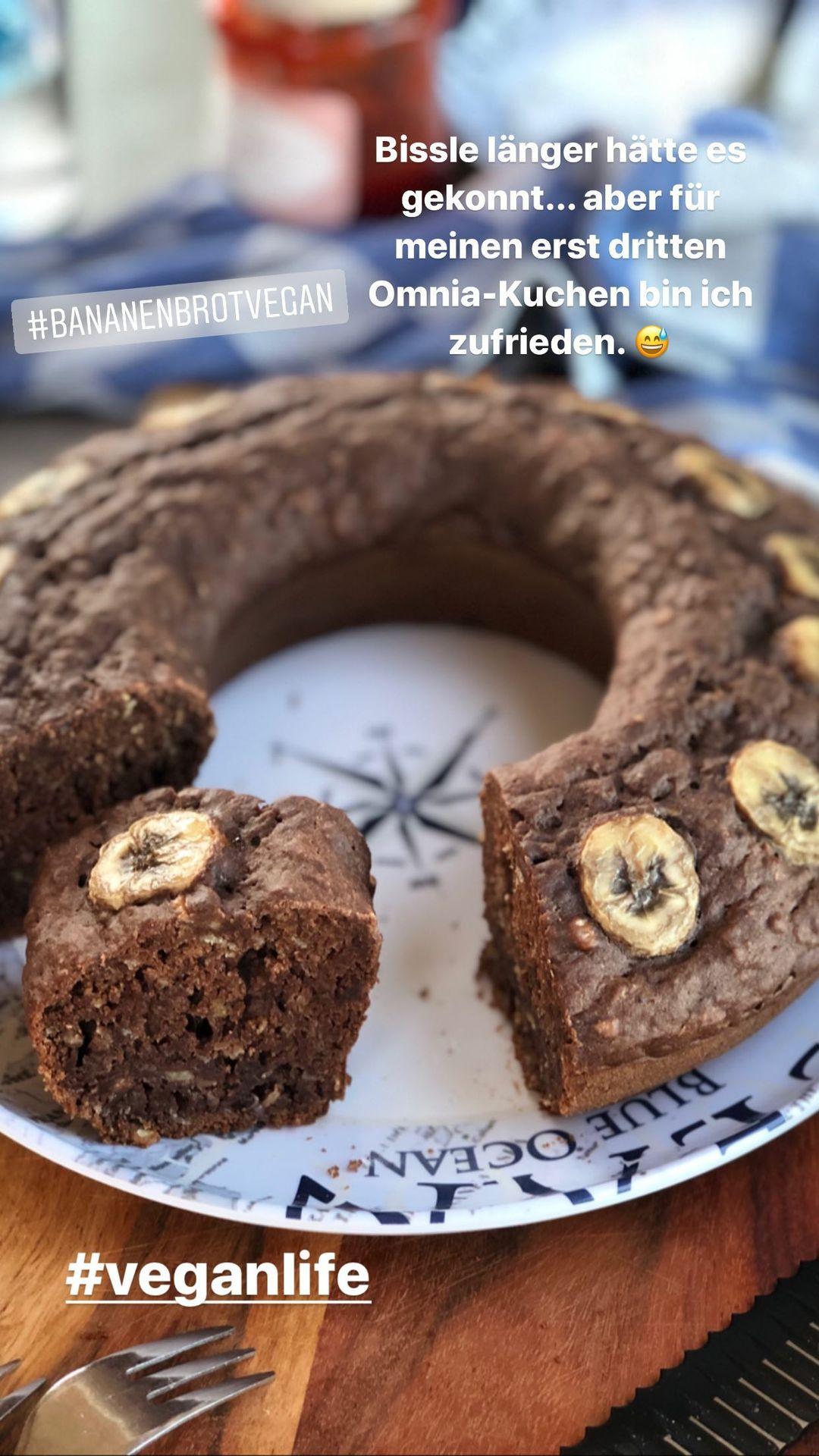 Dänemark-Rundreise im Sommer 2020: Schoko-Bananenkuchen aus dem Omnia