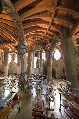 Gaudí's Crypt, Calle Claudi Güell, 08690 Colònia Güell, Santa Coloma de Cervelló, Barcelona, Spain